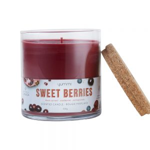 sweet berries candle