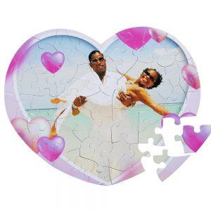 puzzle forme de coeur