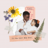 Carte de vœux personalisée pour fêtes des mères